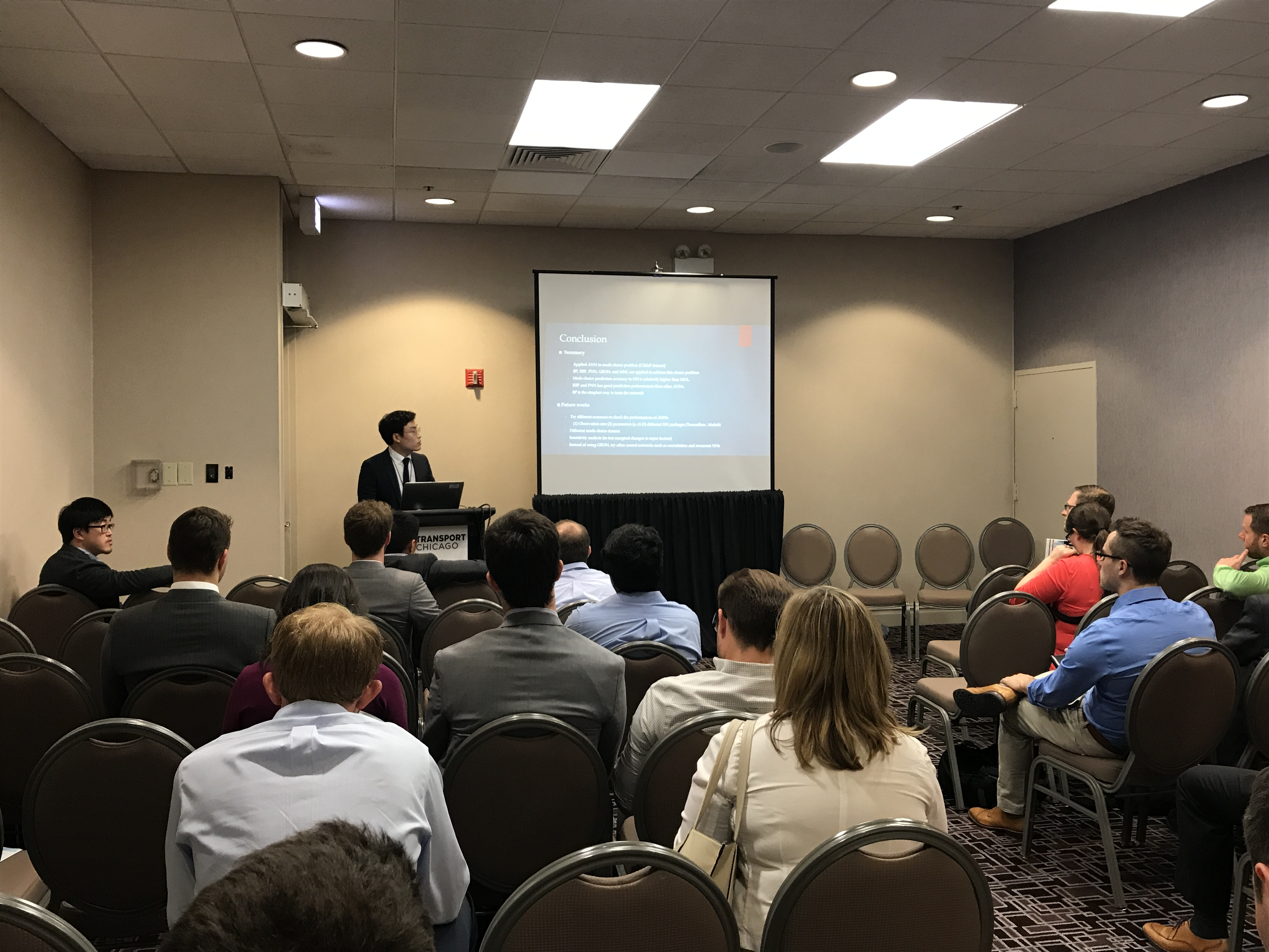 Presentation at Transport Chicago 2017 by UIC-ITE Member.