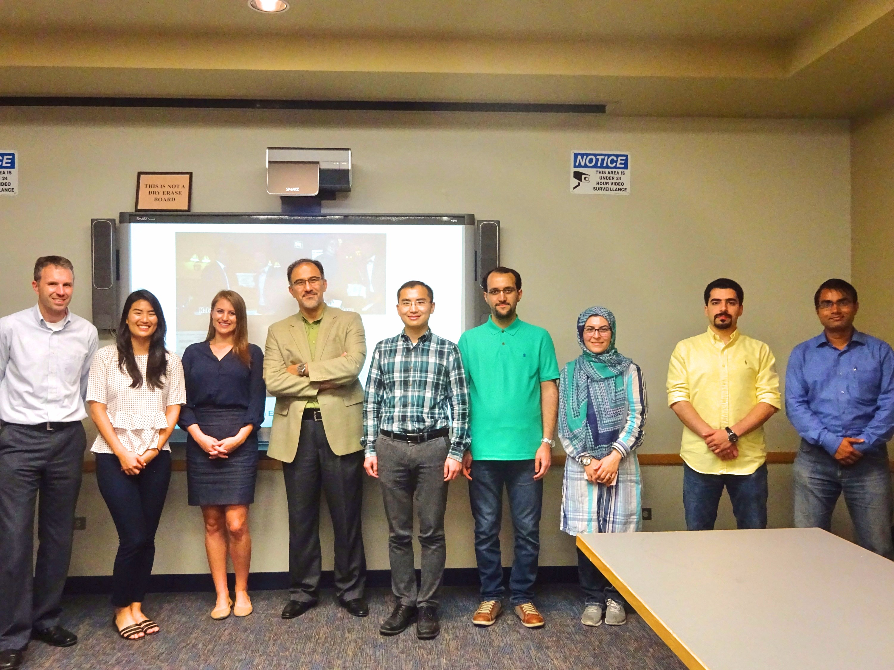 ITE and UIC Team at the second General Body Meeting